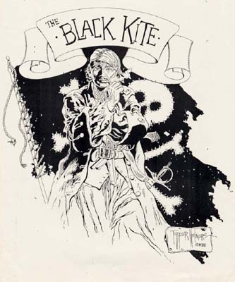 The Black Kite advertising art