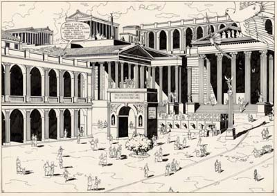 Eclectus Comics Unpublished Caligula 3 page