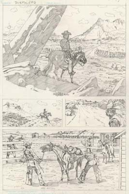 Unpublished western page
