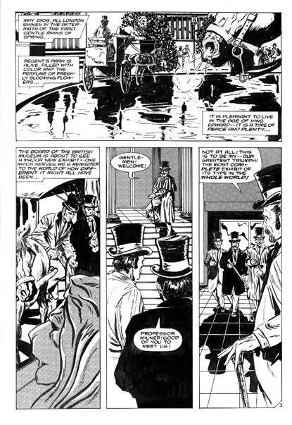 Malibu Comics Sherlock Holmes and the Case of the Missing Martian issue 1 page 1